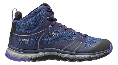 Womens Keen Terradora Mid WP Hiking Shoe - Astral Aura 10.5