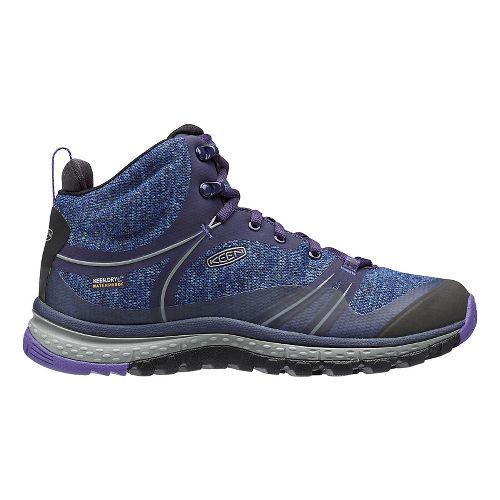 Womens Keen Terradora Mid WP Hiking Shoe - Astral Aura 7