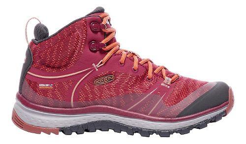 Womens Keen Terradora Mid WP Hiking Shoe - Marsala 8.5