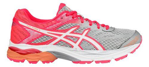 Womens ASICS GEL-Flux 4 Running Shoe - Grey/White 5