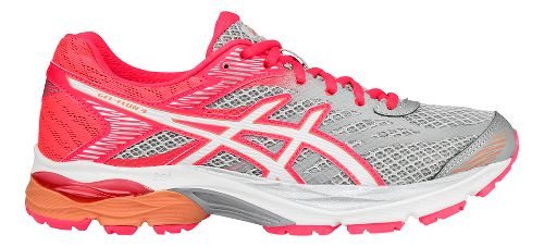 Womens ASICS GEL-Flux 4 Running Shoe - Grey/White 6.5