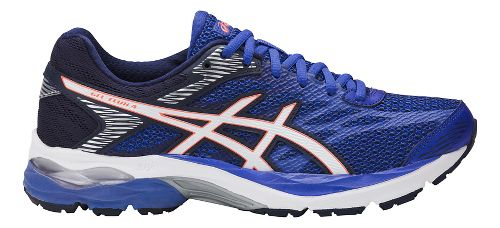 Womens ASICS GEL-Flux 4 Running Shoe - Blue Purple/White 8.5