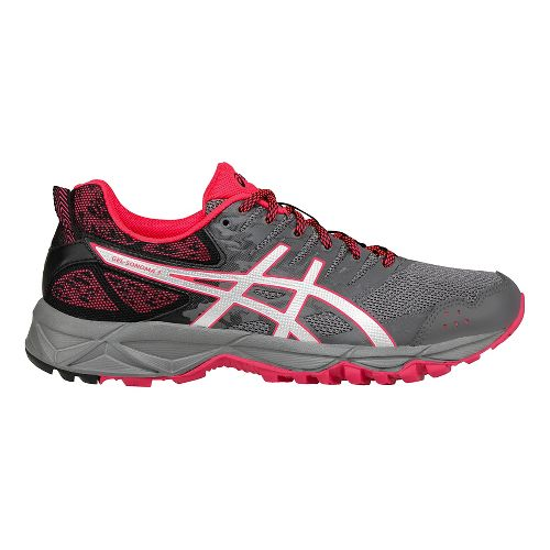 Womens ASICS GEL-Sonoma 3 Trail Running Shoe - Carbon/Silver 10