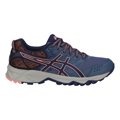 Womens ASICS GEL-Sonoma 3 Trail Running Shoe - Blue/Indigo/Pink 5