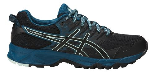 Womens ASICS GEL-Sonoma 3 Trail Running Shoe - Ink Blue/Black 7.5