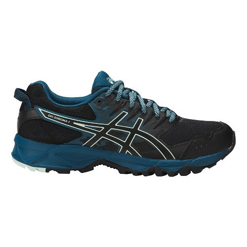 Womens ASICS GEL-Sonoma 3 Trail Running Shoe - Ink Blue/Black 12