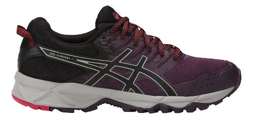 Womens ASICS GEL-Sonoma 3 Trail Running Shoe - Purple/Black 5