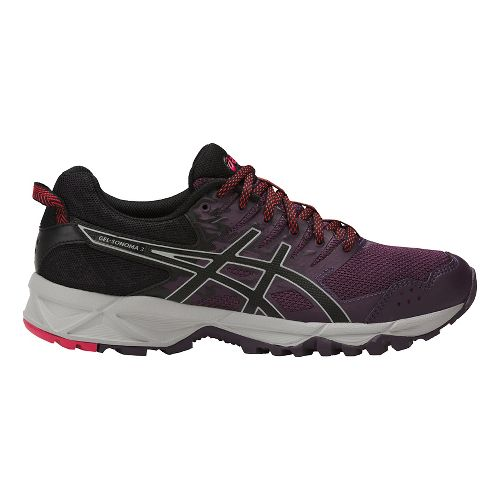 Womens ASICS GEL-Sonoma 3 Trail Running Shoe - Purple/Black 7.5