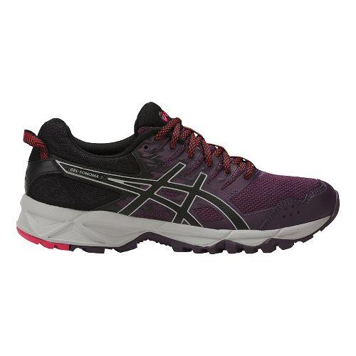 Womens ASICS GEL-Sonoma 3 Trail Running Shoe - Purple/Black 9