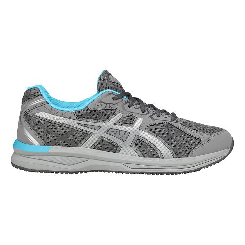 Womens ASICS Endurant Running Shoe - Aluminum/Silver 8.5