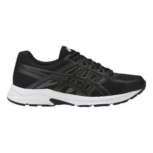 Womens ASICS GEL-Contend 4 Running Shoe - Black/Carbon 6