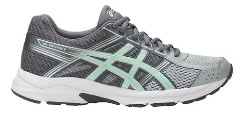 Womens ASICS GEL-Contend 4 Running Shoe - Grey/Glacier Sea 7