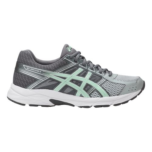 Womens ASICS GEL-Contend 4 Running Shoe - Grey/Glacier Sea 6