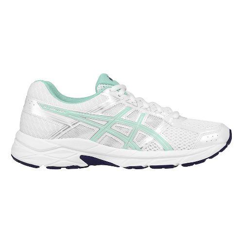 Womens ASICS GEL-Contend 4 Running Shoe - White/Silver 5