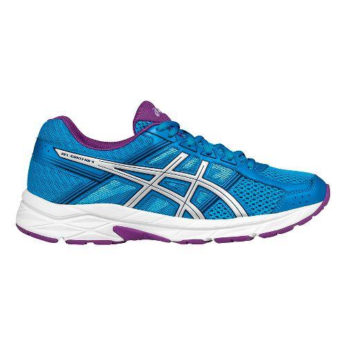 Womens ASICS GEL-Contend 4 Running Shoe - Blue/Silver 11.5