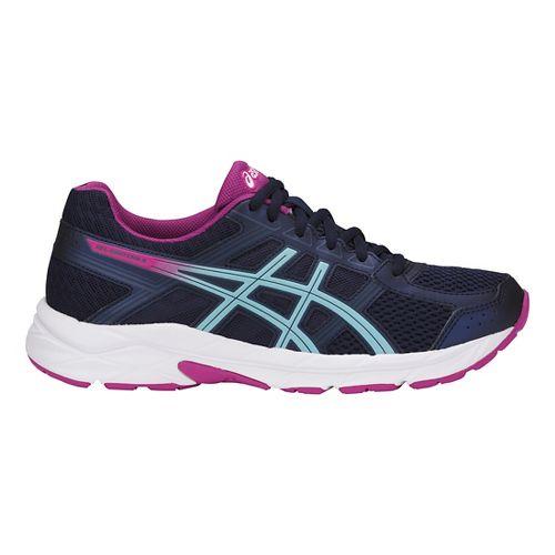 Womens ASICS GEL-Contend 4 Running Shoe - Peacoat/Blue/Red 6
