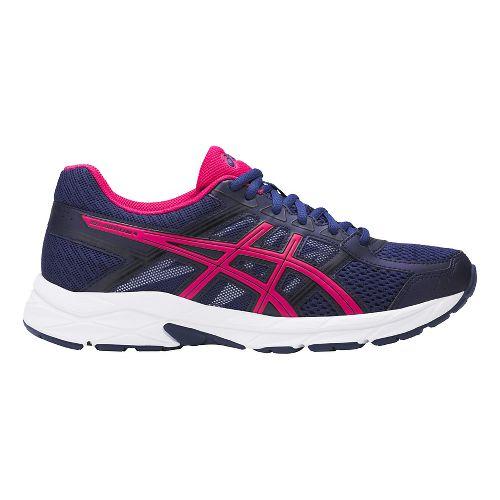 Womens ASICS GEL-Contend 4 Running Shoe - Indigo/Pink 10.5