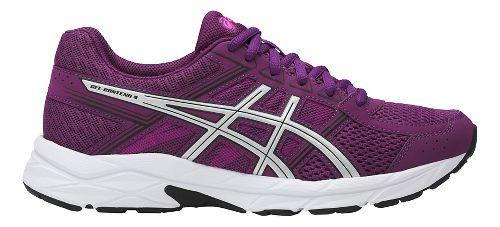 Womens ASICS GEL-Contend 4 Running Shoe - Prune/Silver 11