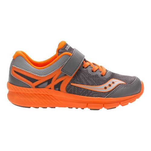 Saucony Velocity A/C Running Shoe - Grey/Orange 1.5Y