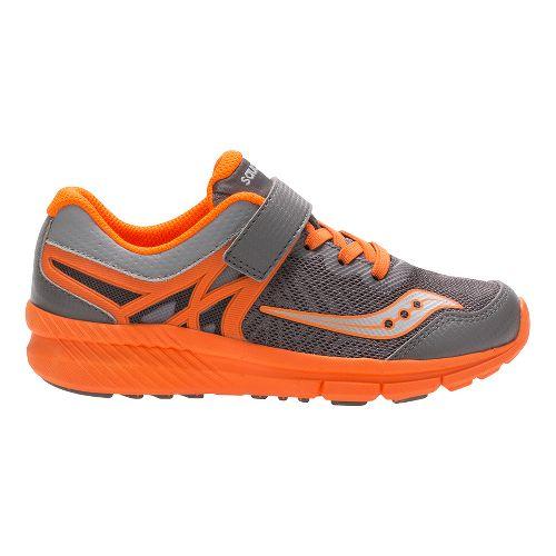 Saucony Velocity A/C Running Shoe - Grey/Orange 2.5Y