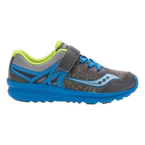 Saucony Velocity A/C Running Shoe - Dark Grey/Blue 10.5C