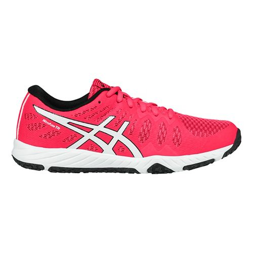Womens ASICS Gel-Nitrofuze TR Cross Training Shoe - Pink/White 5