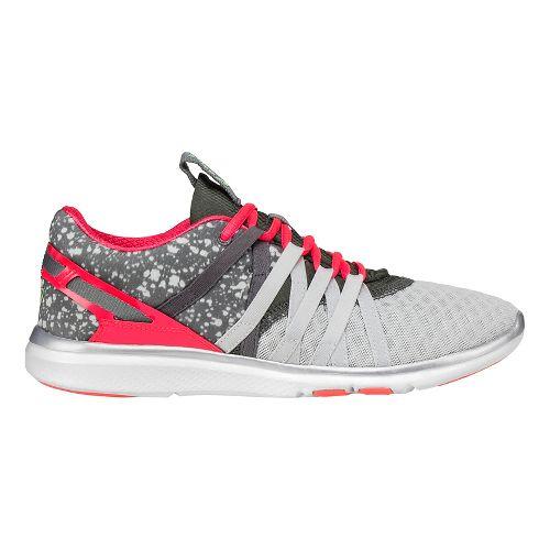Womens ASICS Gel-Fit-Yui Cross Training Shoe - Grey/Pink 5