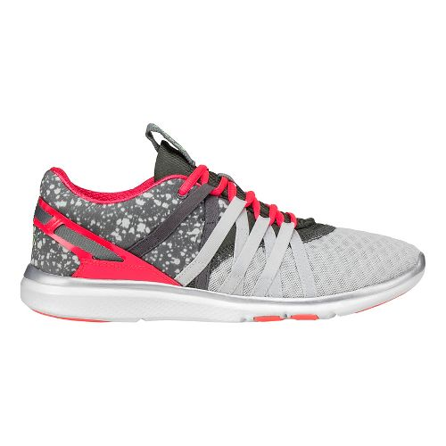 Womens ASICS Gel-Fit-Yui Cross Training Shoe - Grey/Pink 5.5