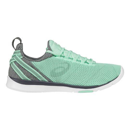 Womens ASICS Gel-Fit Sana Cross Training Shoe - Mint/Black 10.5