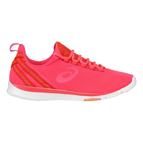 Womens ASICS Gel-Fit Sana Cross Training Shoe - Pink/White 10