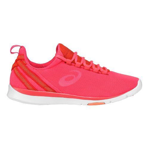 Womens ASICS Gel-Fit Sana Cross Training Shoe - Pink/White 7.5