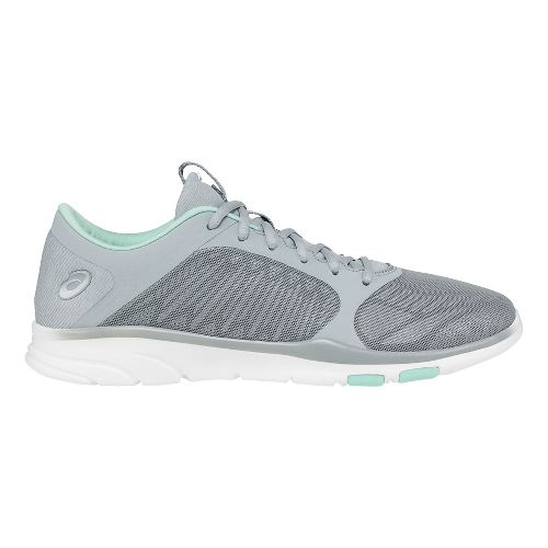 Womens ASICS Gel-Fit Tempo 3 Cross Training Shoe - Grey/Mint 5