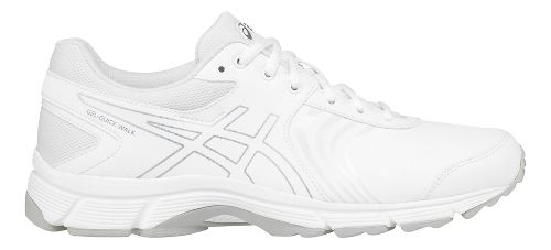 Womens ASICS Gel-Quickwalk 3 SL Walking Shoe - White/Silver 8