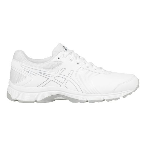 Womens ASICS Gel-Quickwalk 3 SL Walking Shoe - White/Silver 11.5