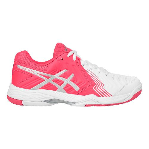 Womens ASICS Gel-Game 6 Court Shoe - White/Pink 10.5