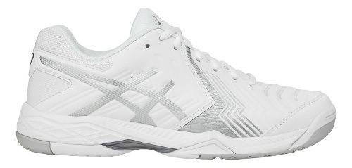 Womens ASICS Gel-Game 6 Court Shoe - White/Silver 8.5