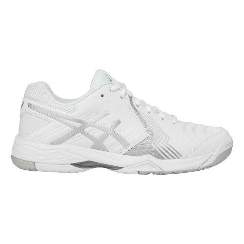 Womens ASICS Gel-Game 6 Court Shoe - White/Silver 7.5