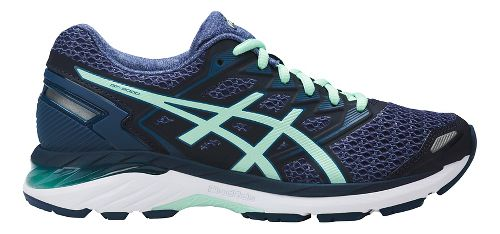 Womens ASICS GT-3000 5 Running Shoe - Blue/Mint 5.5