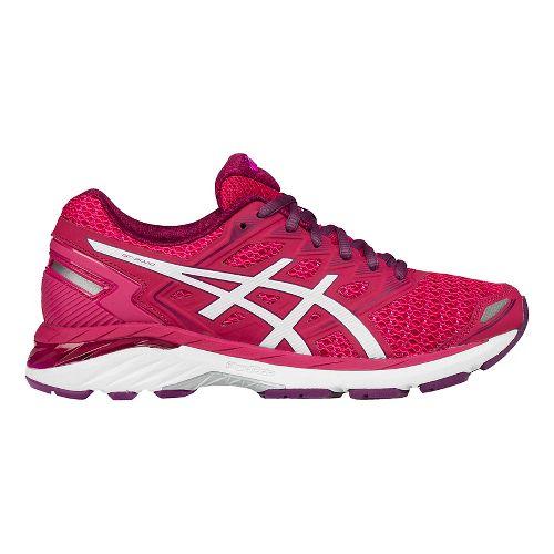 Womens ASICS GT-3000 5 Running Shoe - Rose/White 12
