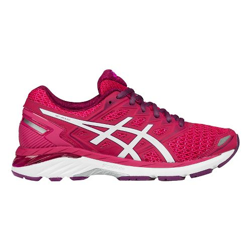 Womens ASICS GT-3000 5 Running Shoe - Rose/White 5