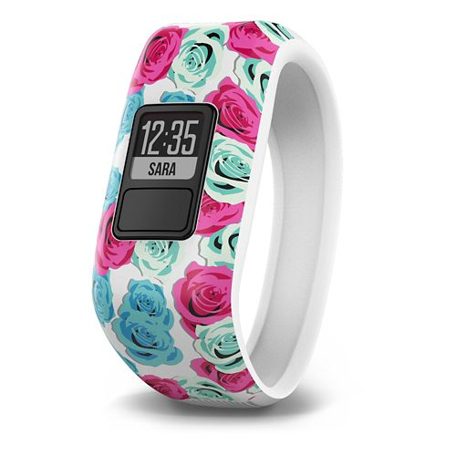 Kids Garmin vivofit jr. Chore + Activity Tracker Monitors - Real Flower