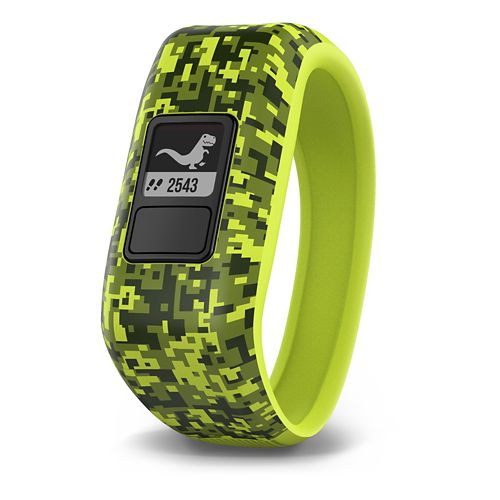 Kids Garmin vivofit jr. Chore + Activity Tracker Monitors - Digi Camo