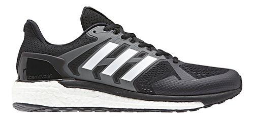 Mens adidas Supernova ST Running Shoe - Black/White 10.5