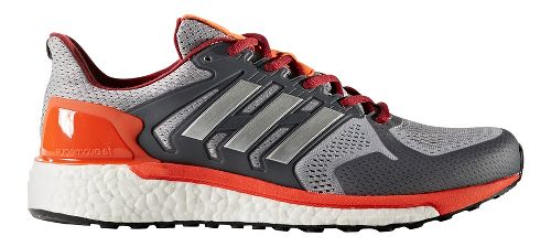Mens adidas Supernova ST Running Shoe - Grey/Silver 12
