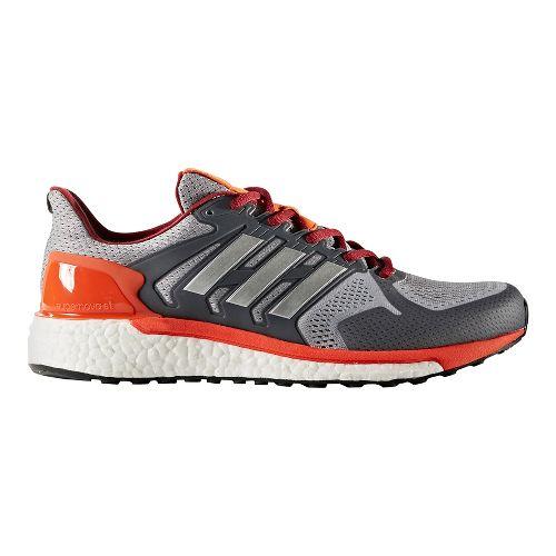 Mens adidas Supernova ST Running Shoe - Grey/Silver 10