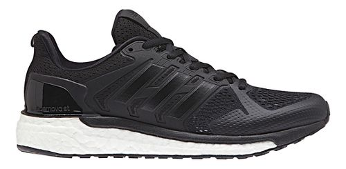 Womens adidas Supernova ST Running Shoe - Black/White 10.5