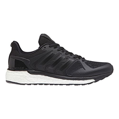 Womens adidas Supernova ST Running Shoe - Black/White 10.5