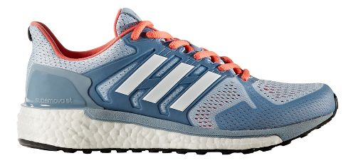 Womens adidas Supernova ST Running Shoe - Blue/Turquoise 10