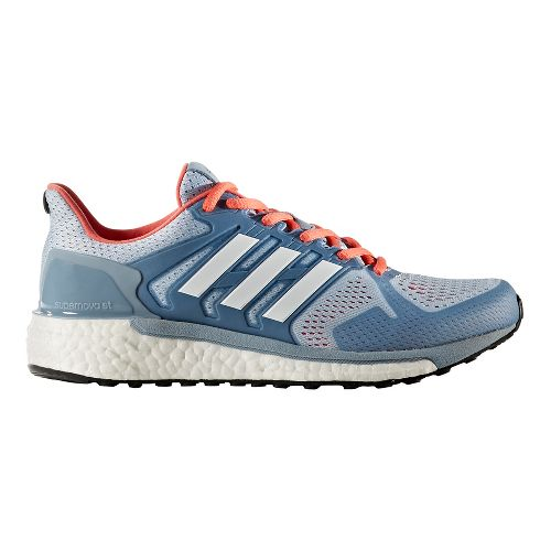 Womens adidas Supernova ST Running Shoe - Blue/Turquoise 10.5