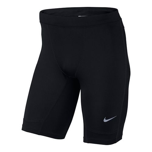 Mens Nike Dri-FIT Essential Half Tight Compression & Fitted Shorts - Black L